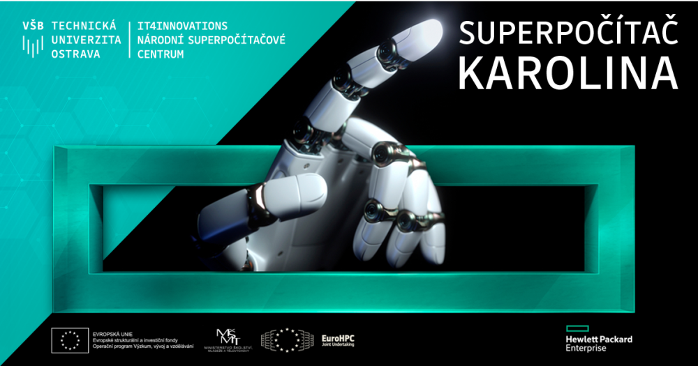 The new most powerful Czech supercomputer is going to be called Karolina