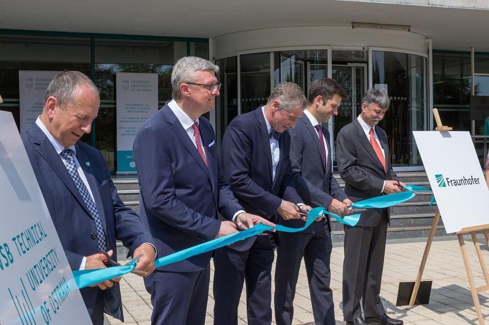 VŠB-TUO otevřela inovační platformu Fraunhofer