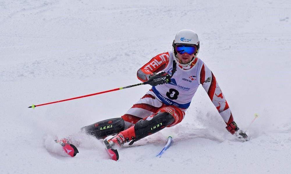 Mistr lyžař z VŠB-TUO