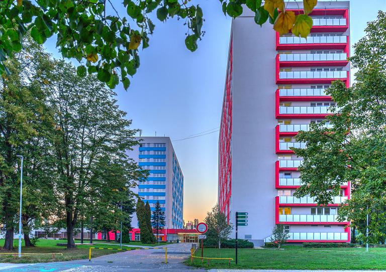 Informace o ubytování na kolejích VŠB-TUO