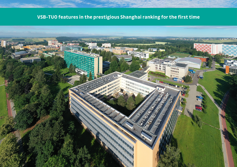 VSB-TUO features in the prestigious Shanghai ranking for the first time