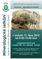 Mineralogické setkání spojené s výstavou přírodnin, fosílií a šperků