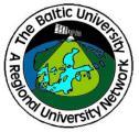 The Baltic University Programme (BUP) - Výroční cena za nejlepší disertační práci v roce 2014