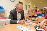 Huť obohatila školku o stavebnice, VŠB-TUO zase o vědomosti v polytechnickém vzdělávání dětí