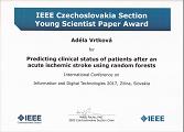 Young Scientist Paper Award - ocenění na mezinárodní konferenci věnované digitálním technologiím