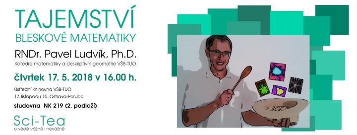 RNDr. Pavel Ludvík: Tajemství bleskové matematiky