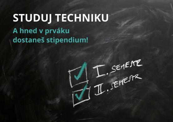 Motivační stipendia pro studenty 1. ročníku