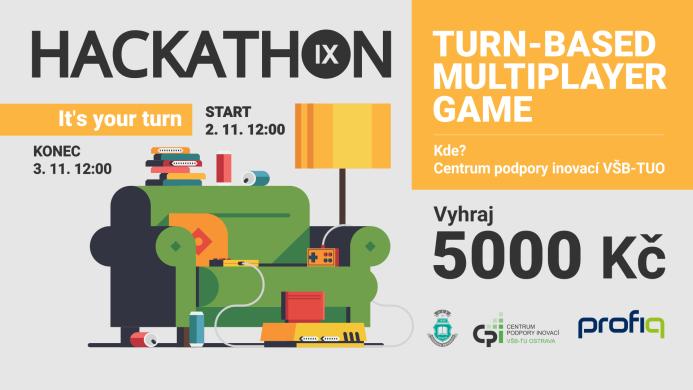 Hackathon 9. TURN-BASED MULTIPLAYER GAME