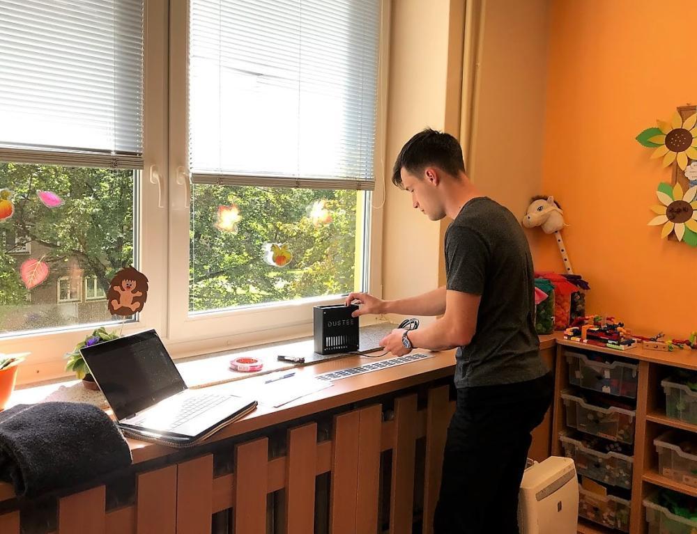 Startupový projekt DUSTEE pomáhá dětem na Ostravsku lépe dýchat