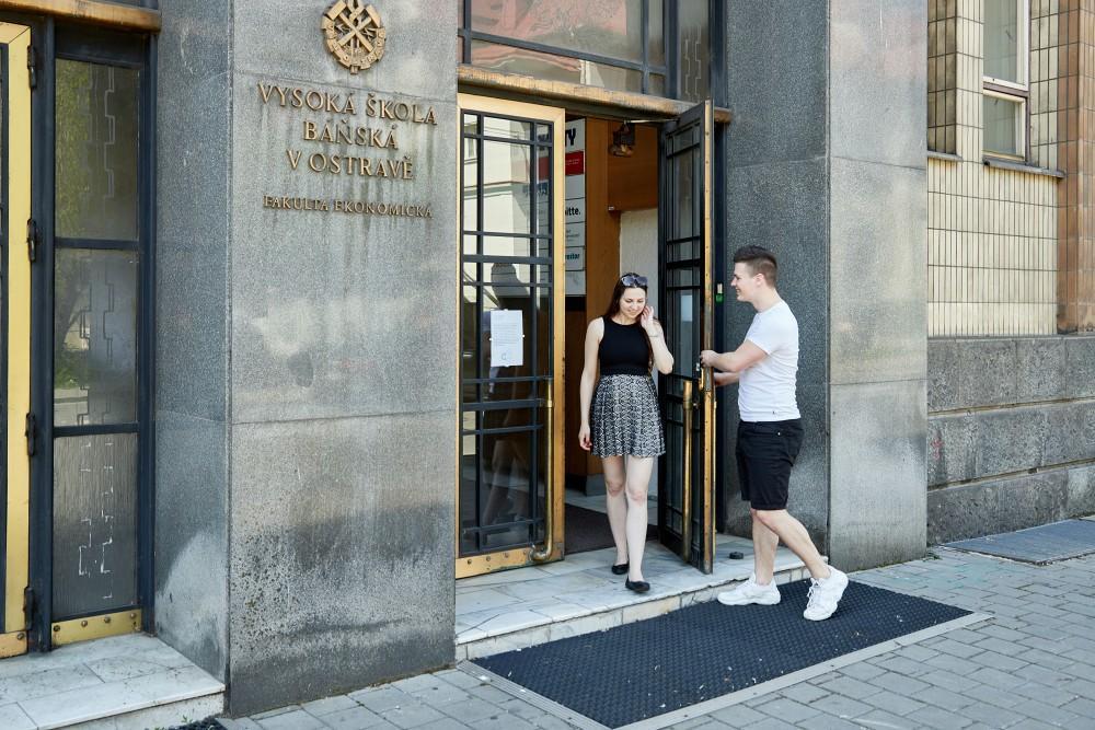 Dny otevřených dveří (nebo oken) Ekonomické fakulty 2021