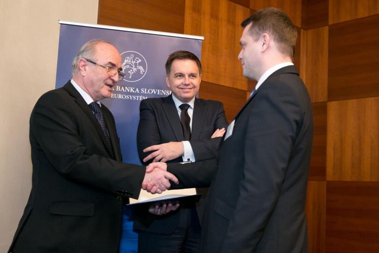 3. místo v soutěži Cena guvernéra Národnej banky Slovenska