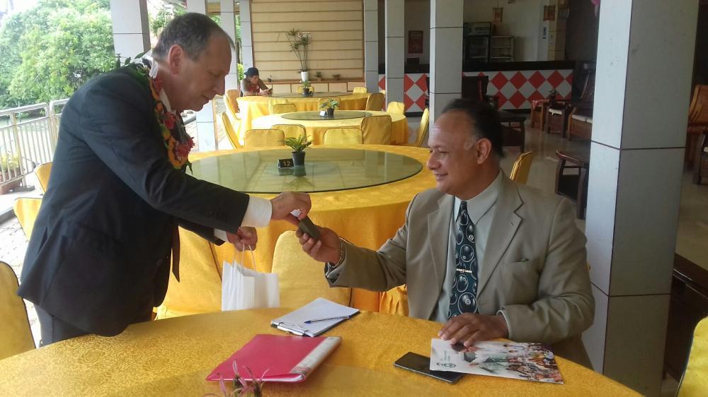 VŠB-TUO navázala spolupráci s univerzitou v Tichomoří