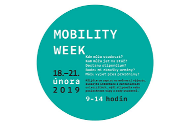 Mobility Week: 18. 2. - 21. 2. 2019