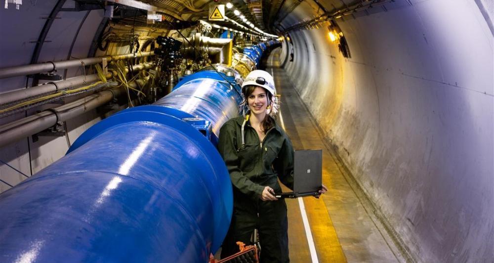 Přednáška Evropské organizace pro jaderný výzkum (CERN)
