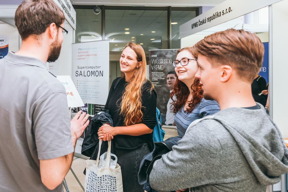 Kariéra Plus už po dvanácté nabídne studentům pracovní příležitosti