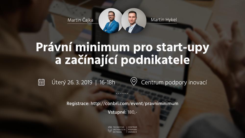 Apple Juice Meeting: Právní minimum pro start-upy a začínající podnikatele