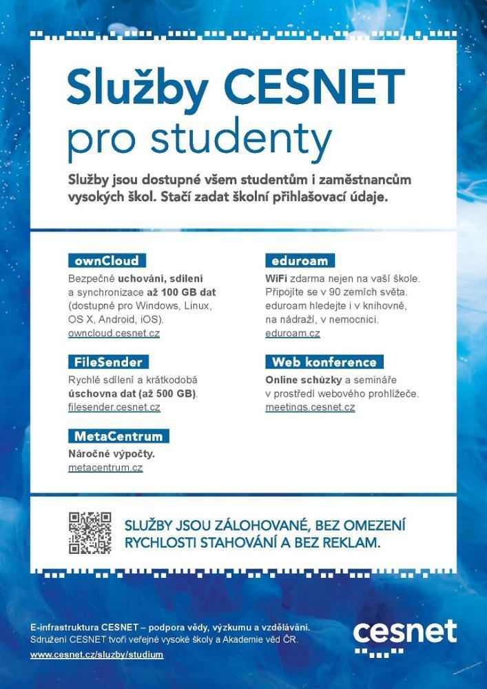Služby CESNET pro studenty
