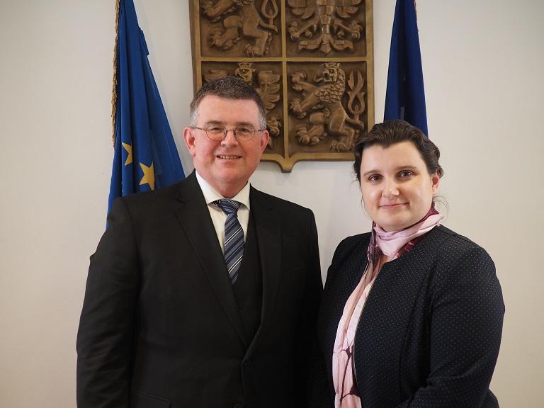 Prorektorka Kukutschová jednala v Bruselu