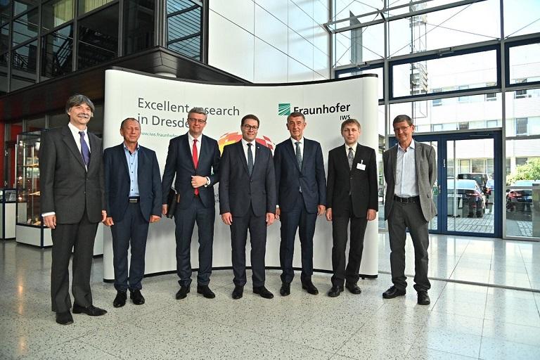 Rektor Snášel se v Drážďanech setkal s premiérem Babišem a ministrem Havlíčkem
