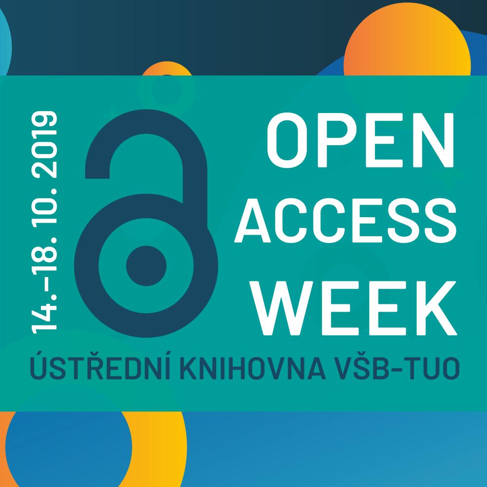 Open Access Week 2019 - Znalosti pro všechny