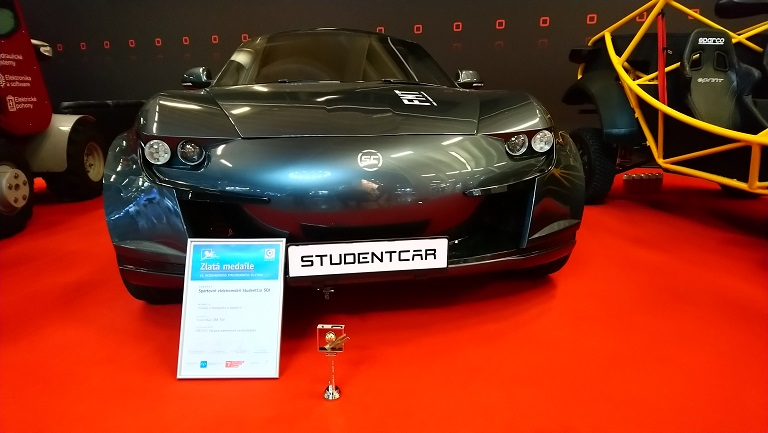 The International Engineering Fair appreciated the StudentCar VŠB-TUO project