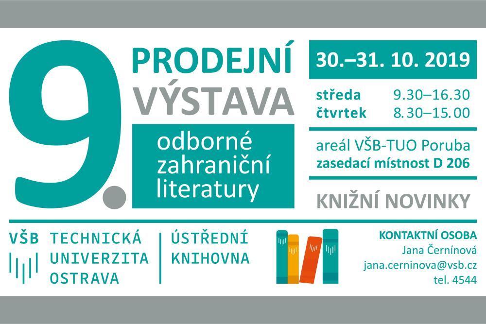 Výstava novinek zahraničních odborných knih