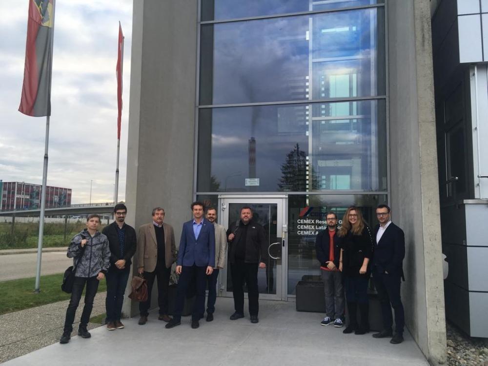 Nové možnosti stáží pro studenty VŠB-TUO, HGF a oblasti spolupráce VaV se společností CEMEX Reasearch Group AG