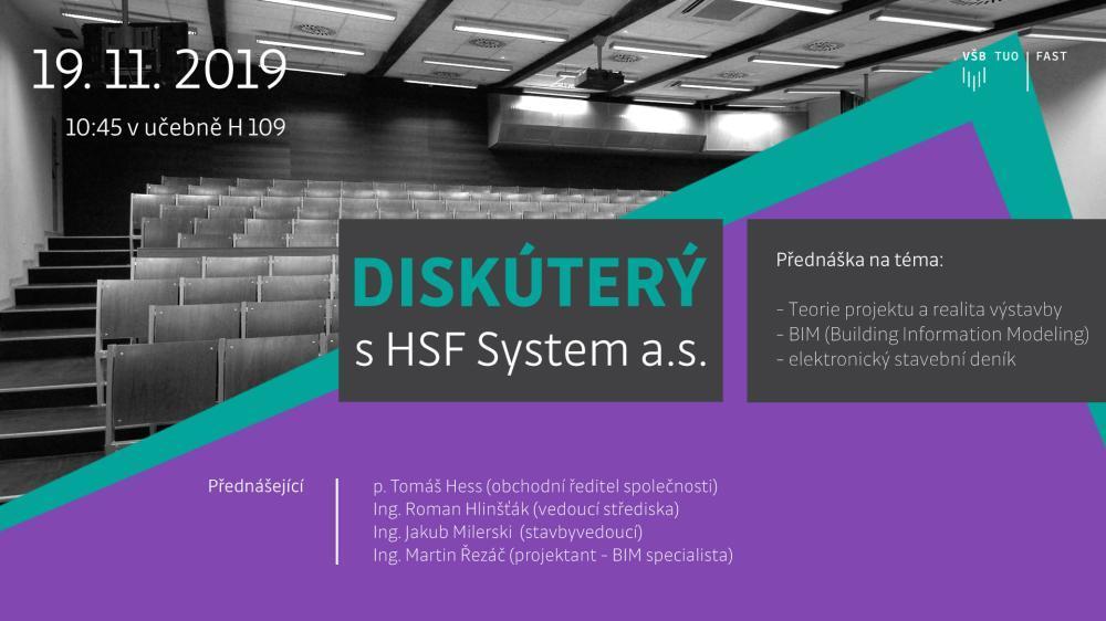 Diskúterý s HSF System a.s.
