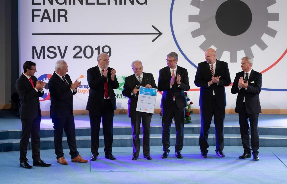 Profesor Kopáček získal ocenění za celoživotní technickou práci