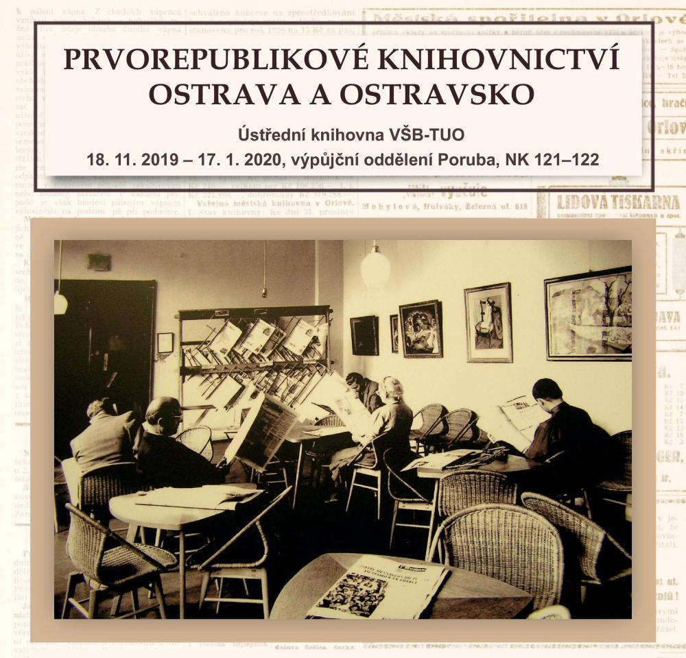 Prvorepublikové knihovnictví - Ostrava a Ostravsko