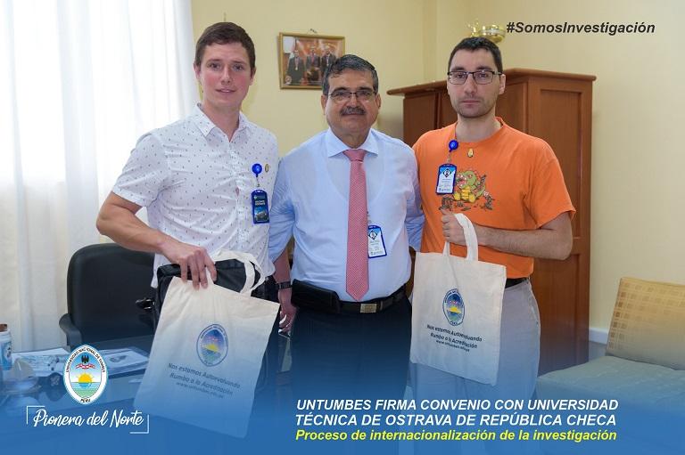 Institut environmentálních technologií VŠB-TUO navázal spolupráci s Národní univerzitou v Tumbes z Peru