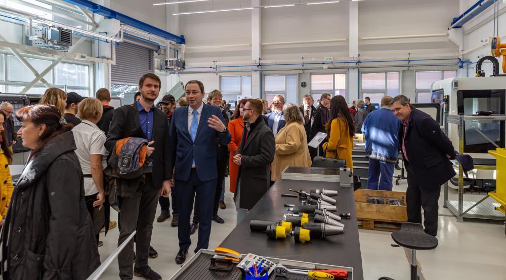 Moderní laboratoře pro budoucí inženýry VŠB – Technická univerzita Ostrava otevře novou budovu