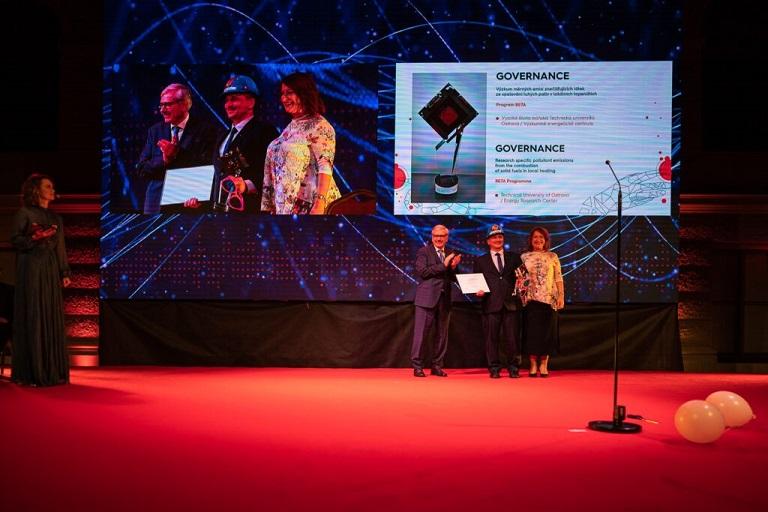 Výzkumné energetické centrum VŠB-TUO získalo ocenění od TA ČR