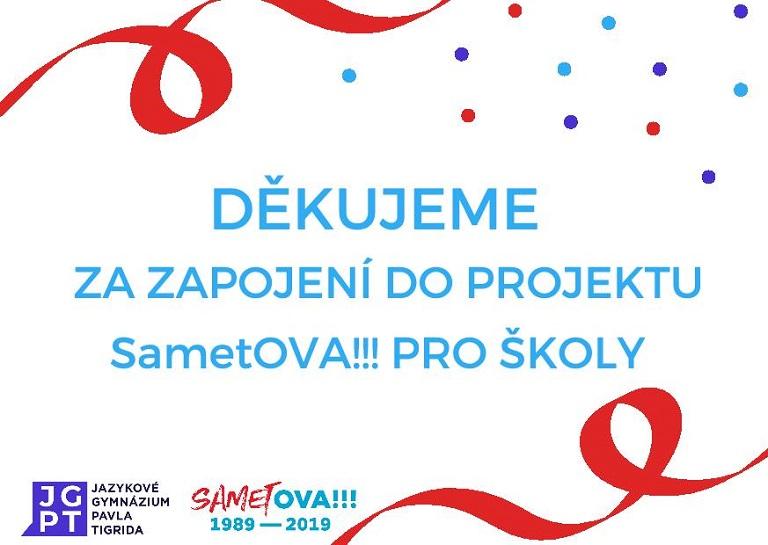 VŠB-TUO se zapojila do akce SametOVA!!!