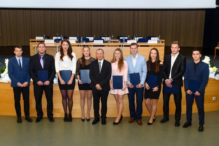 Desítka nejlepších sportovců-studentů VŠB-TUO za akademický rok  2018/19
