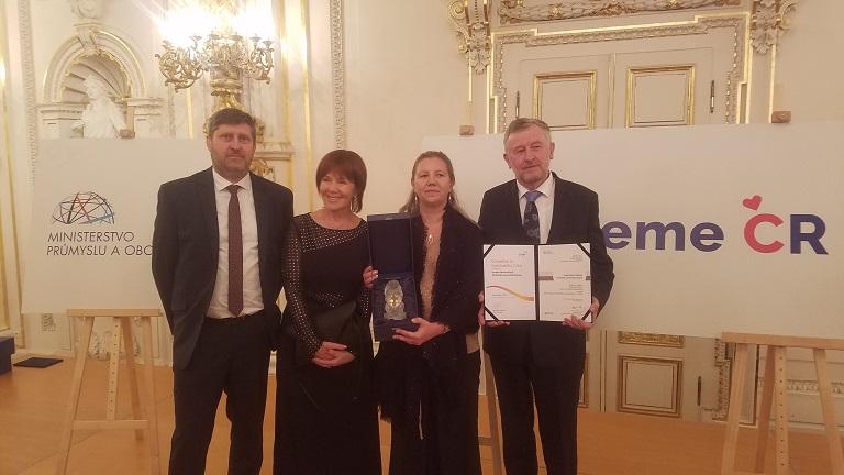 VŠB-TUO získala Národní cenu České republiky za společenskou odpovědnost