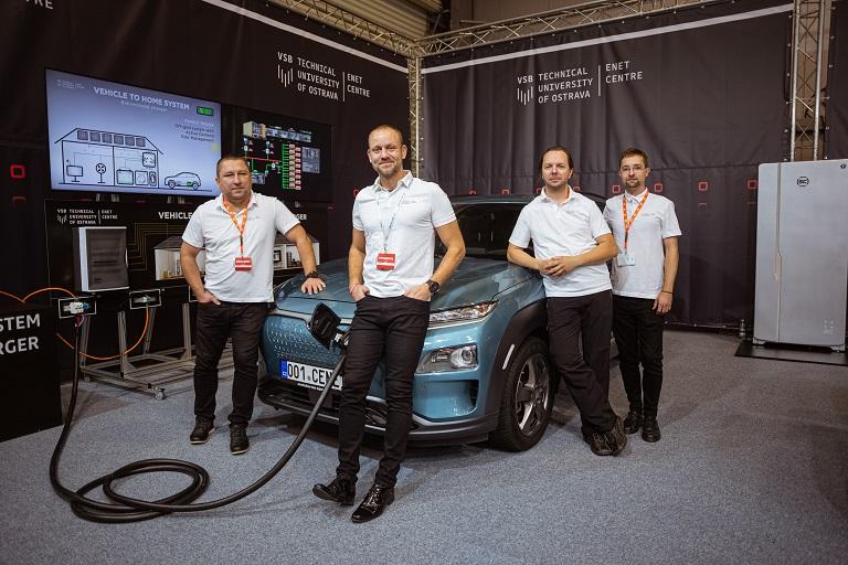 VŠB-TUO se prezentovala na výstavě e-SALON 2019