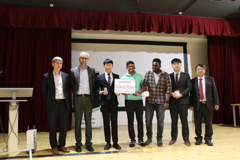 Studenti oboru Aplikovaná mechanika uspěli na akci Global Startup Camp