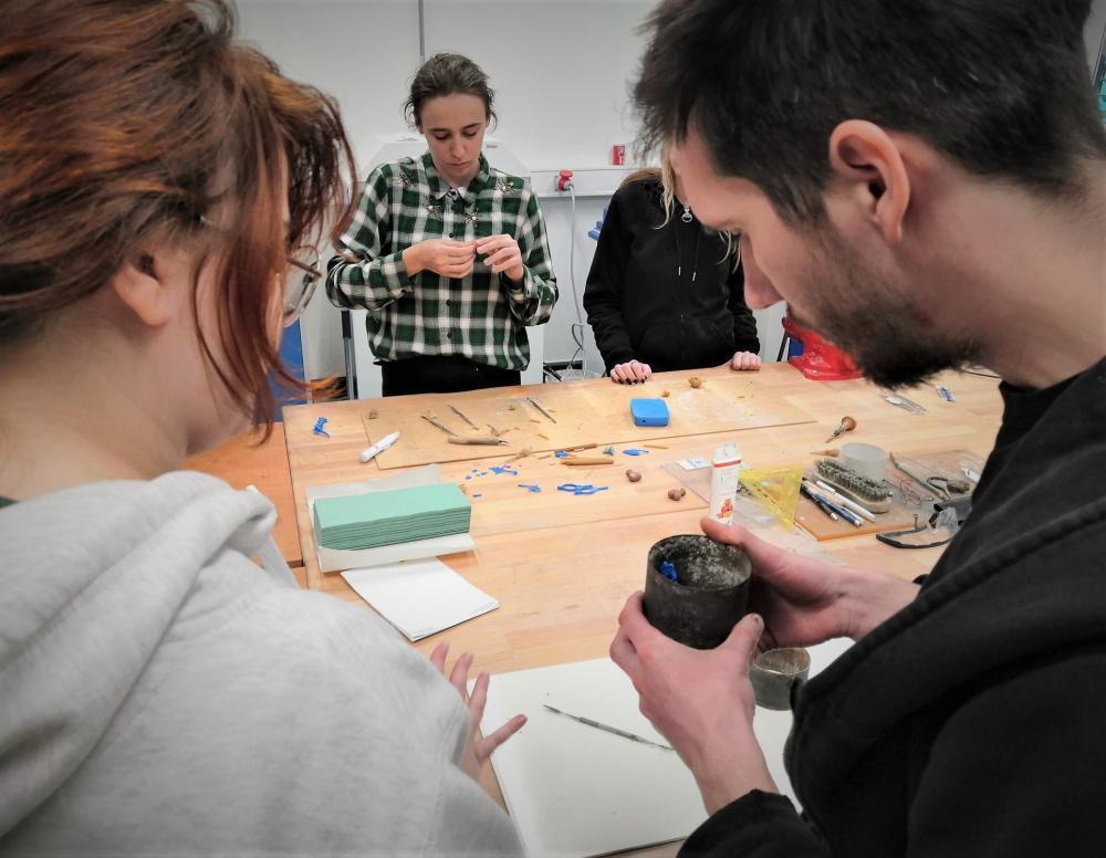 Intenzivní workshop uměleckého slévárenství