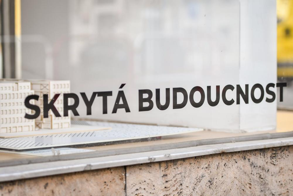 Architecture students exhibition - Skrytá budoucnost (The Hidden Future)