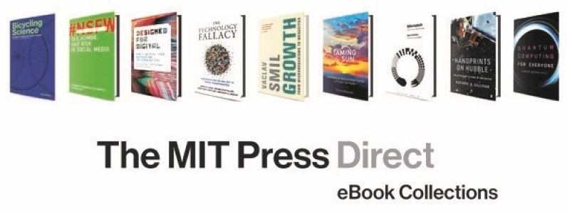 Prodloužený přístup k e-knihám MIT Press