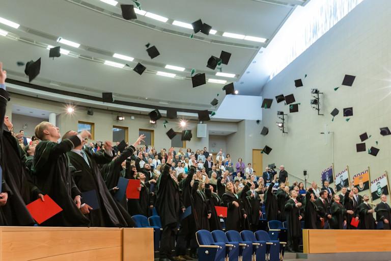 Ukončení studia absolventů Fakuty strojní