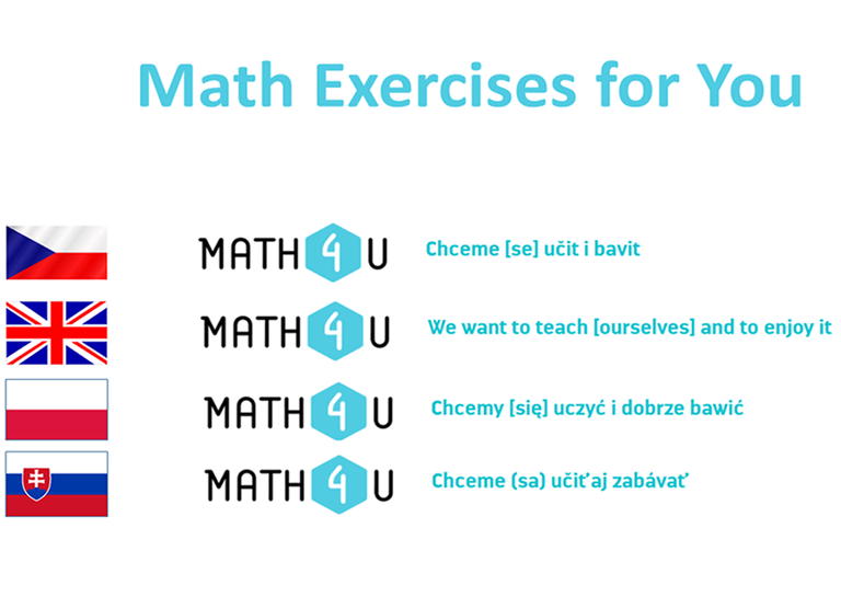 Evropská jazyková cena Label 2020 pro projekt Math Exercises for You