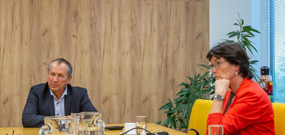VŠB-TUO navštívila předsedkyně Akademie věd ČR