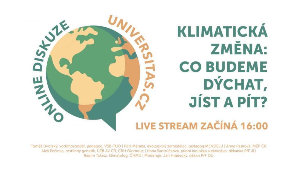 Diskuse: Jak se adaptovat na měnící se klima?