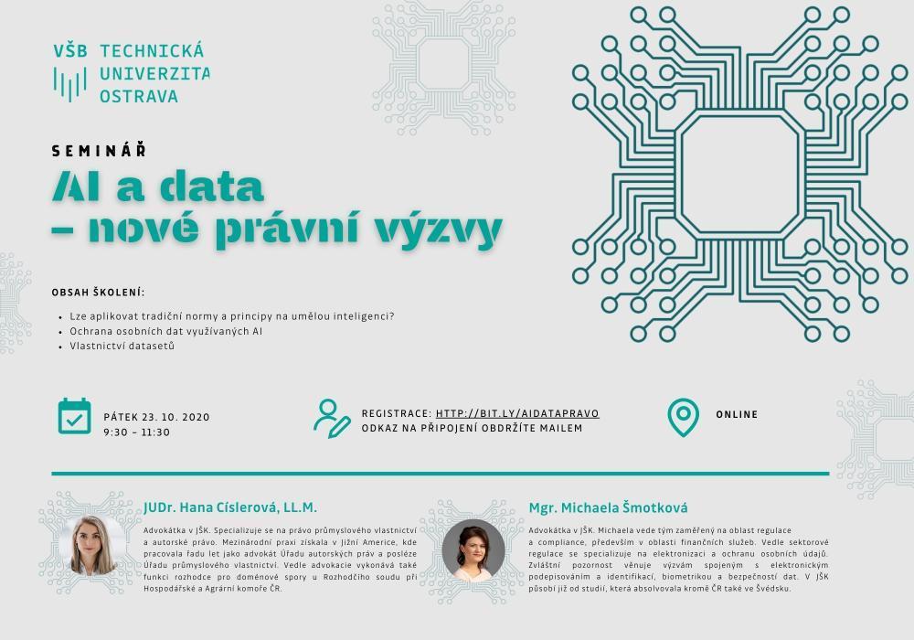 AI a data  – nové právní výzvy