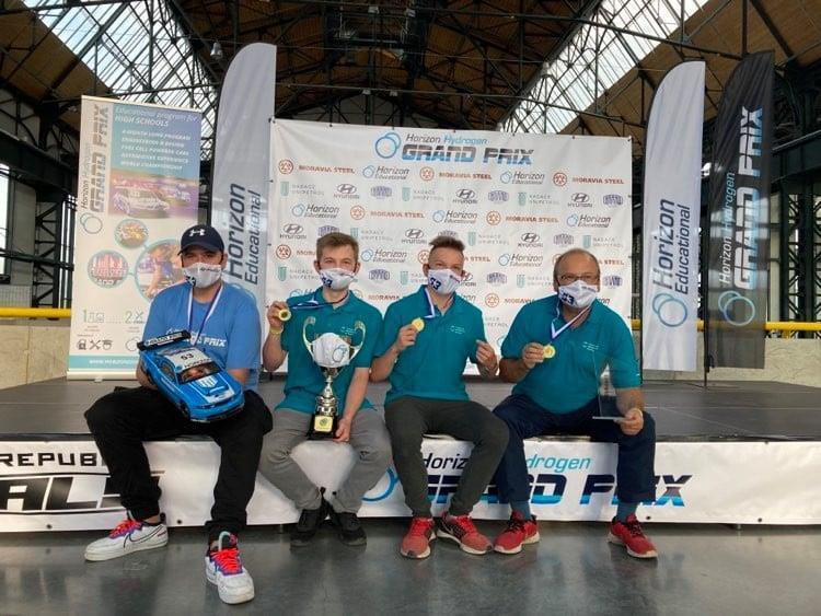 Tým VŠB-TUO VoltAge zvítězil v letošní celostátní soutěži Horizon Grand Prix