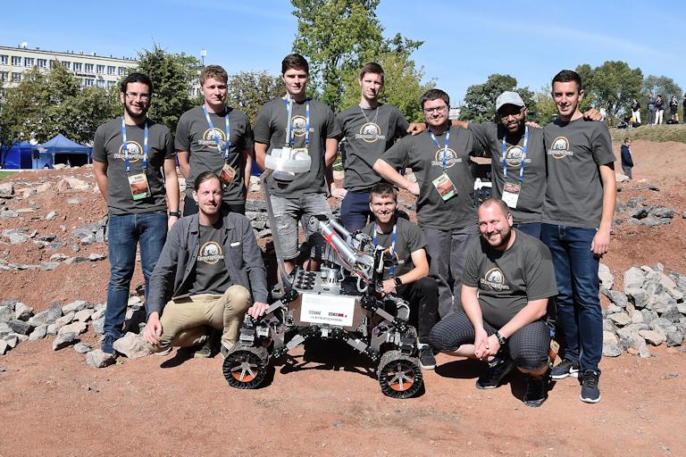 Úspěch na soutěži European Rover Challenge 2019