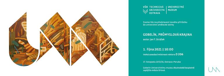 Univerzitní muzeum představuje: Gobelín, průmyslová krajina