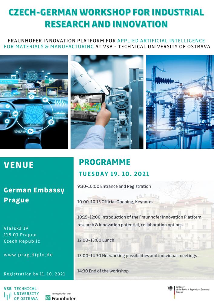 Invitation Workshop for industry
